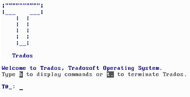 Trados – Tradosoft Operating System (solo)